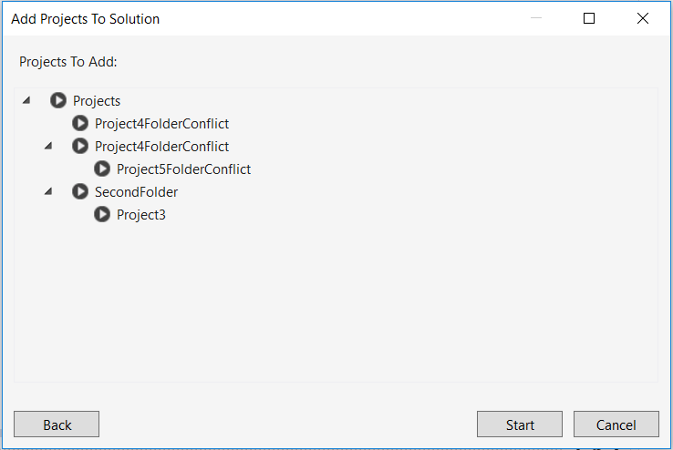 Add Multiple Projects To Solution - Visual Studio Marketplace